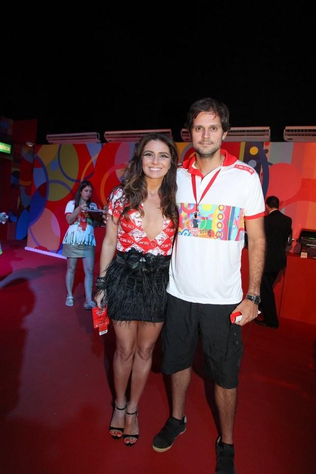 Giovanna Antonelli e Marido (Foto: Francisco Silva/Agnews)