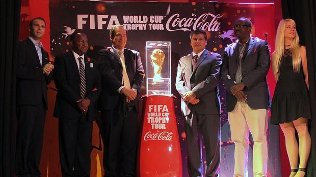 tour da taça Copa do Mundo na República Dominicana (Foto: Diogo Venturelli)