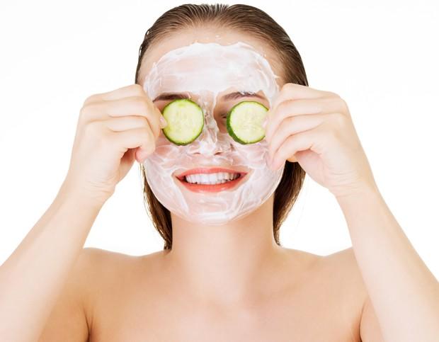 Máscara de pepino (Foto: .)