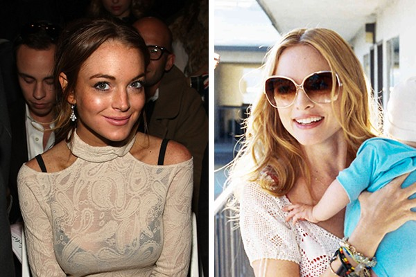 Lindsay Lohan perdeu o papel de Jade para Heather Graham (Foto: Getty Images / Reprodução)