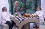 Ana Maria recebe os chefs Roberto Ravioli e Luciano Bosseglia