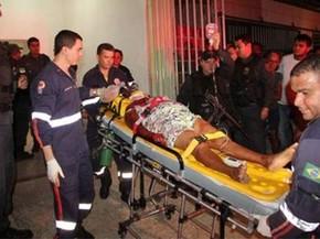 Maria Elisabete de Souza foi socorrida ao hospital, onde permaneceu internada por 10 dias (Foto: Marcelino Neto/OCâmera)