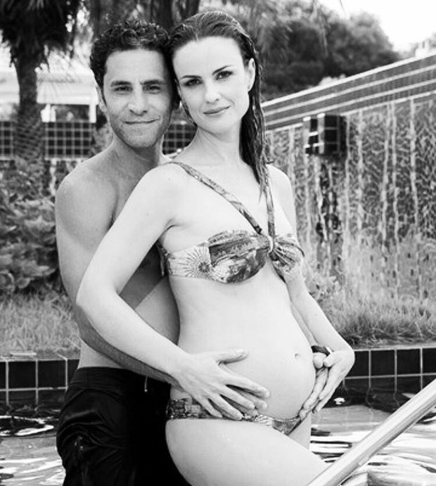 Carolina Kasting e Maurício Grecco (Foto: Instagram / Reprodução)