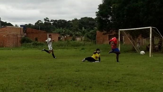 Sub 16 e 20 do Rondoniense participam de amistoso (Foto: Lívia Costa)