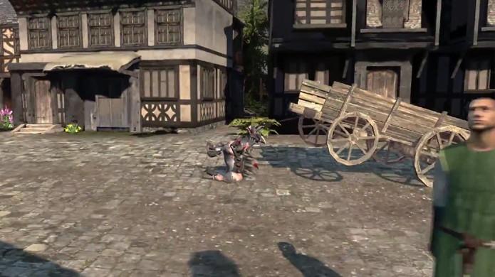 Goat MMO Simulator promete continuar sendo bizarro como o original (Foto: Reprodução: YouTube)