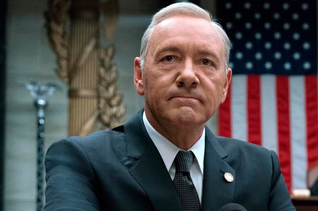 Kevin Spacey em 'House of cards' (Foto: Netflix)