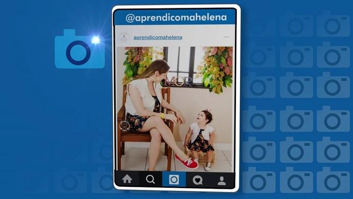 """""""Aprendi com Helena"""" é sucesso nas redes sociais (Foto: TV Sergipe)"""
