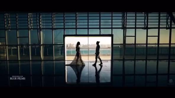 Thyane Dantas e Wesley Safadão em clipe de casamento (Foto: Reprodução/Instagram)