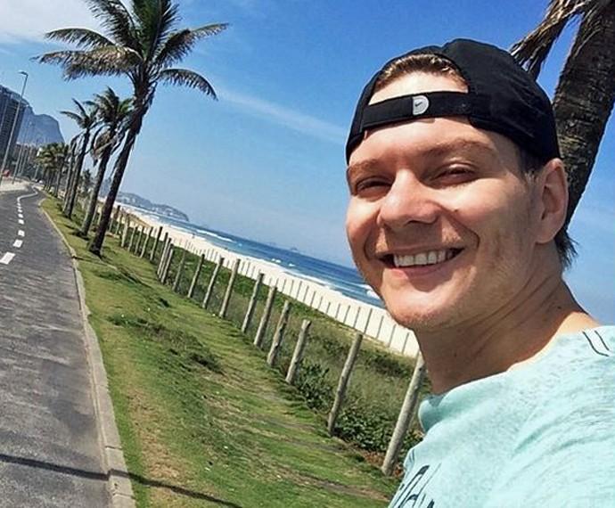 Ele gosta de sol e mar: passeio pelo Rio de Janeiro (Foto: Arquivo Pessoal)