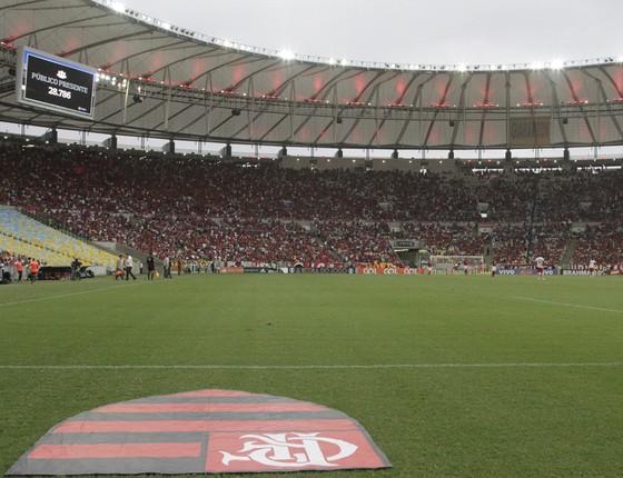Flamengo assinou contrato com o Maracanã em setembro de 2013 por três anos, de 2014 a 2016 (Foto: Gilvan de Souza / Flamengo)