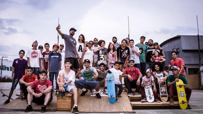 Campeonato de Skate em Ji-Paraná (Foto: Alysson Vicente/ Arquivo pessoal)