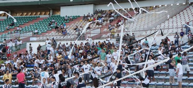 Torcida do Botafogo-PB (Foto: Phelipe Caldas)