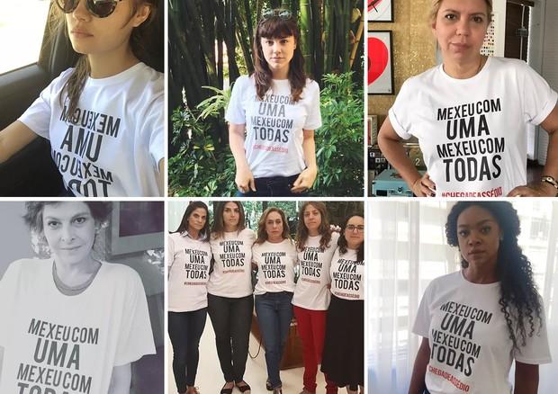 Famosas se unem em campanha contra assédio sexual no trabalho (Foto: Reprodução/ Instagram)