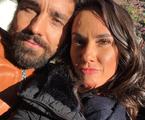 Ricardo Pereira com a mulher, Francisca | Reprodução Instagram
