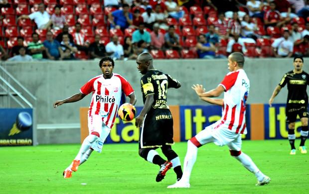 Náutico x Botafogo (Foto: Aldo Carneiro/ Pernambuco Press)