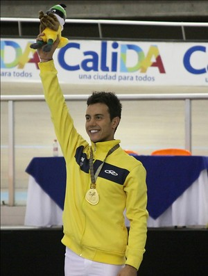 Marcel Stürmer é ouro nos Jogos Mundiais (Foto: Beatrice Aguirre Zuñiga/Divulgação)