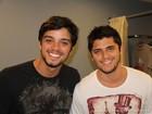Gissoni entrega infância de brigas com Rodrigo Simas: 'Ele era mais certinho'