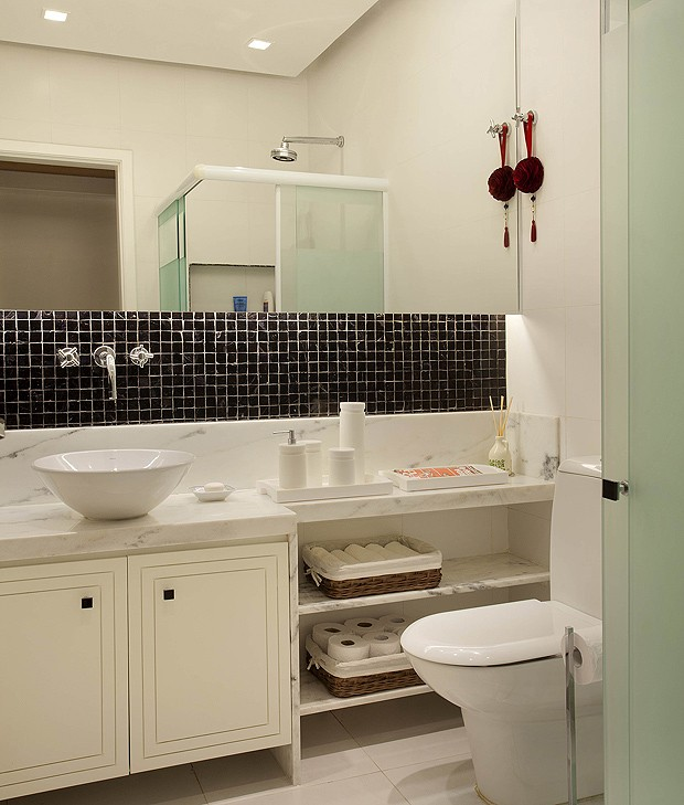 20 ideias de decoração para banheiros e lavabos  Casa e Jardim  Decoração -> Decoracao De Banheiro De Apartamento