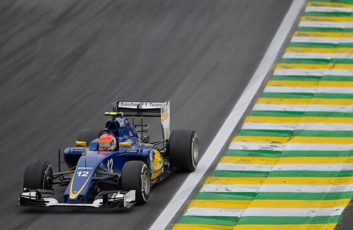 Felipe Nasr Fórmula 1 GP do Brasil corrida (Foto: EFE)