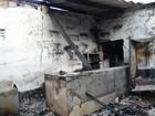 Bar é destruído por incêndio, e mulher diz que a causa foi explosão de celular