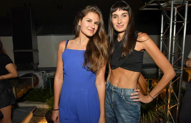 Alexandra Benenti e Valentina Faro (Foto: Cleiby Trevisan)