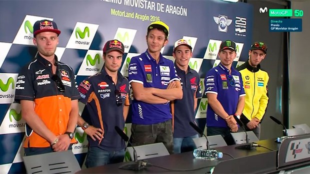 BLOG: Mundial de Motovelocidade - Coletiva de Imprensa abre os trabalhos do GP de Aragão...