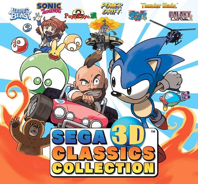 Clássicos da Sega retornam em 3D (Foto: Divulgação/Nintendo)