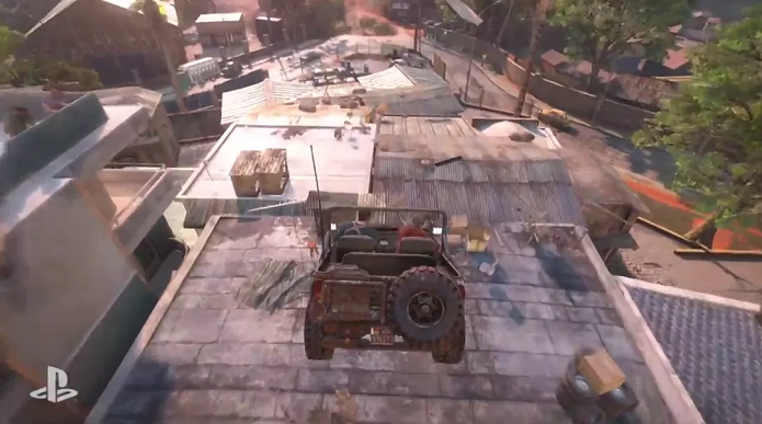 Uncharted 4 teve gameplay com perseguição alucinante (Foto: Reprodução/TechTudo)