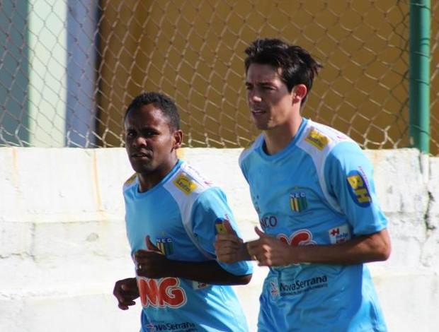 Reforço Nacional-MG  - Maxsuel e Luizinho (Foto: Cleber Corrêa/GLOBOESPORTE.COM)