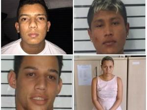 Suspeitos foram presos pela Polícia Civil (Foto: Polícia Civil/Divulgação)