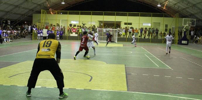 Cajuína x Crensa - Campeonato Piauiense de Futsal (Foto: Ramiro Pena/GloboEsporte.com)