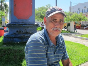 Morador da zona rural viaja cerca de 50 km para votar em Eldorado (Foto: Mariane Rossi / G1)