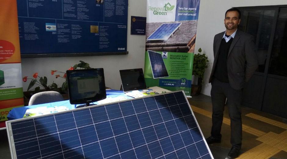 Reinaldo Cardoso é o proprietário da Renova Green, startup que inova na área de sustentabilidade  (Foto: Divulgação)