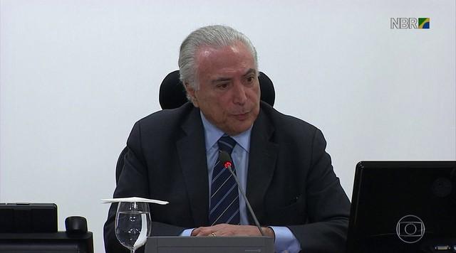 Decisão de autorizar uso das tropas federais foi anunciada pelo próprio Michel Temer