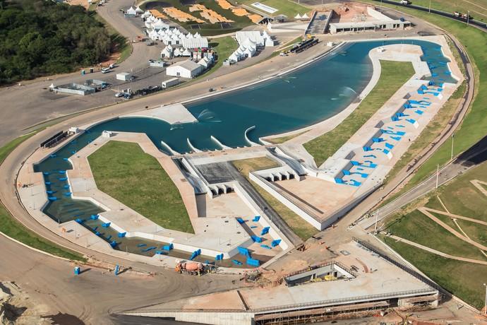 Circuito de canoagem slalom dos Jogos do Rio 2016 (Foto: Renato Sette Câmara/Prefeitura do Rio)