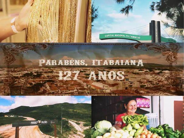 Aniversário de Itabaiana (Foto: Arte / TV Sergipe)