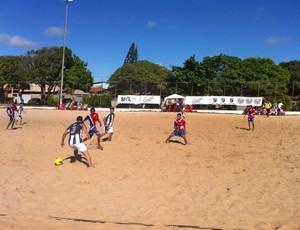 Circuito RN de Beach Soccer, Arena Pirangi (Foto: Andrey Valério/Divulgação)
