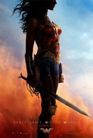 Cartaz de 'Mulher Maravilha' divulgado pela atriz Gal Gadot (Foto: Divulgação)