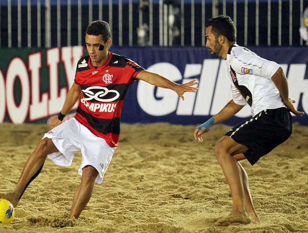 Futebol de Areia Flamengo x Vasco (Foto: William Lucas / Inovafoto)