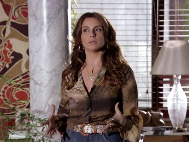 Cabelos de Heloísa são os mais pedidos pelo público (Foto: Divulgação/TV Globo)