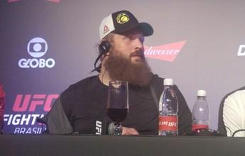 """Roy Nelson minimiza """"agressão"""" a árbitro do UFC: """"Foi um empurrão"""""""