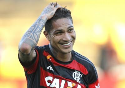 Guerrero, gol, Flamengo x Boavista, Flamengo (Foto: Gilvan de Souza/Fla Imagem)