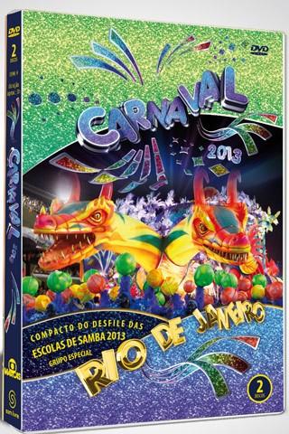 Capa do DVD duplo do Carnaval 2013 (Foto: Divulgação)