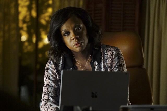 Viola Davis em cena de 'How to get away with murder' (Foto: Reprodução)