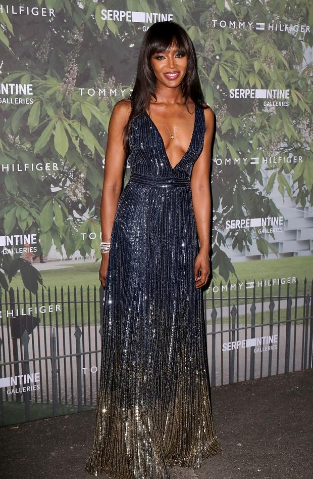 Naomi Campbell em evento em Londres, na Inglaterra (Foto: David M. Benett/ Getty Images)