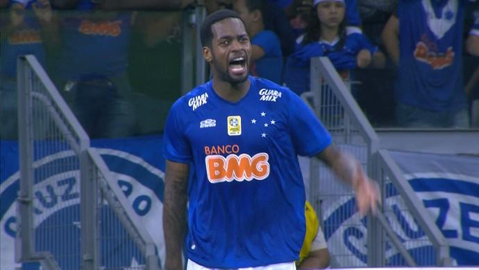 Dedé, zagueiro Cruzeiro (Foto: Reprodução \Sportv)