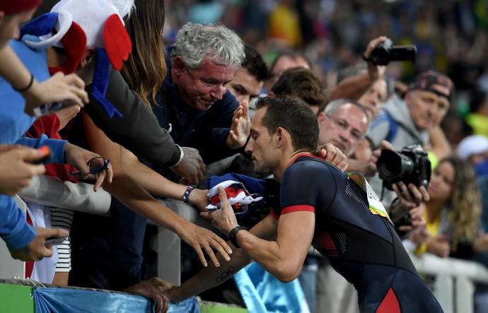 Renaud Lavillenie lamenta resultado  (Foto:  Shaun Botterill/Getty Images)