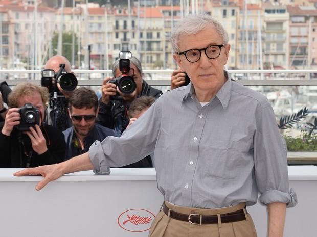 11/05: Woody Allen lança 'Café Society' no Festival de Cannes (Foto: ALBERTO PIZZOLI/AFP)