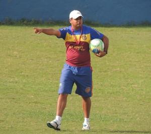 Leston Júnior, técnico Madureira (Foto: Divulgação)