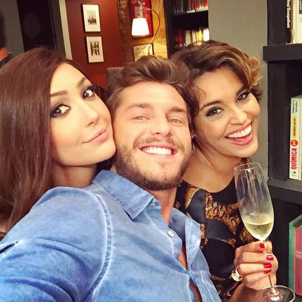 Josie Pessôa, Klebber Toledo e Suzy Rego (Foto: Reprodução/Instagram)